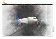 Slovak Government Flying Service Airbus A319-115 Painting Carry-all Pouch
