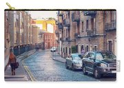 small street of Dublin Carry-all Pouch by Ariadna De Raadt