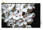 Small White Flowers Digital Carry-all Pouch