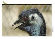 Smiley Face Emu Carry-all Pouch