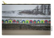 Snow At Barry Island Carry-all Pouch