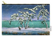 Snow At Hi Marsh, Mito - Digital Remastered Edition Carry-all Pouch