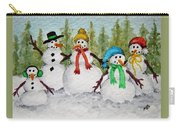 Snow Family Carry-all Pouch