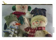 Snow Folk Carry-all Pouch