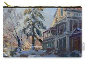 Snow In Town Carry-all Pouch
