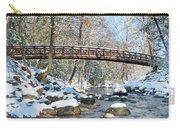 Snowy Bridge Carry-all Pouch