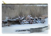 Snowy Graveyard Carry-all Pouch