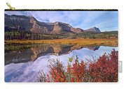 Sofa Mountain Reflecteion, Waterton Carry-all Pouch