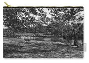 Solitude In Black And White Carry-all Pouch
