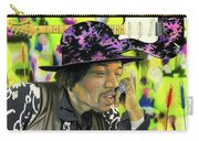 Sonic Exploration - A Jimi Hendrix Portrait Carry-all Pouch