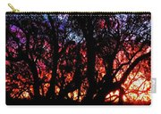 Sonoran Sunrise Ironwood Silhouette Carry-all Pouch