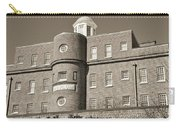 South Carolina State Hospital Asylum Black And White Carry-all Pouch by Lisa Wooten