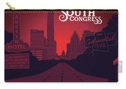 South Congress Avenue Carry-all Pouch