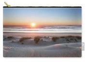 South Jetty Beach Sunset, No. 4 Carry-all Pouch by Belinda Greb