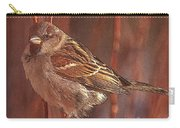 Sparrow In The Sunshine Carry-all Pouch