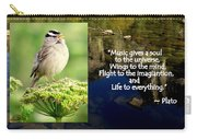 Sparrows Music Carry-all Pouch