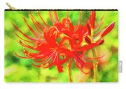 Spider Lily Cezanne Carry-all Pouch