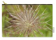 Spiky Plant Pulsatila Halleri Carry-all Pouch