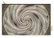 Spinning A Design For Decor And Clothing Carry-all Pouch