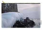 Split Rock Lighthouse Winter Carry-all Pouch