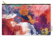 Spring Crush 3- Abstract Art By Linda Woods Carry-all Pouch