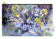 Spring In The Artist's Garden Carry-all Pouch by Ryn Shell