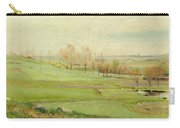 Spring Landscape With Light Green Fields Carry-all Pouch