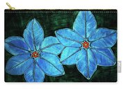 Spring Star Flowers Carry-all Pouch