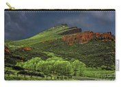 Spring Storm At Milepost 84 Carry-all Pouch