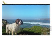 Springer Spaniel Dog In Sennen Cove Carry-all Pouch