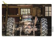 Square Format Old Tractor In The Barn Vermont Carry-all Pouch