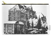 St Charles Hall Carroll College Helena Montana Carry-all Pouch