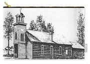 St. Mary's Mission, Stevensville, Montana Carry-all Pouch
