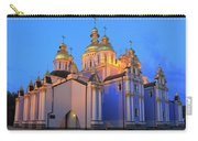 St Michael's Golden-domed Monastery At Dusk Kiev Ukraine Carry-all Pouch