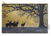 Stags At Dawn Carry-all Pouch