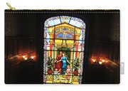 Stained Glass At Moody Mansion Carry-all Pouch