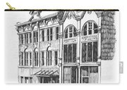 State Publishing And Parchen Building Helena Montana Carry-all Pouch