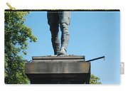 statue In memory of Gallant Soldier Lt. Col. George Elliott Bens Carry-all Pouch