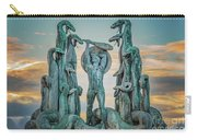 Statue Of Heracles The Hero Carry-all Pouch
