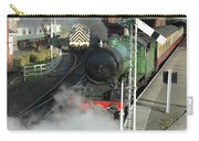 Steam Train Leaving Station Carry-all Pouch