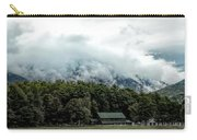 Steaming White Mountains Carry-all Pouch
