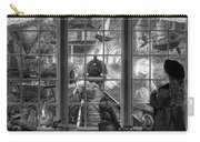 Steampunk Dreams In Black And White Carry-all Pouch