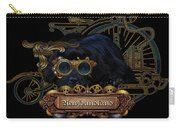 Steampunk Newfie Carry-all Pouch