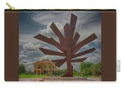 Steel Palm - Peace River Botanical And Sculpture Gardens Carry-all Pouch
