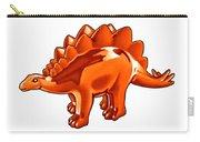 Stegosaurus Cartoon Carry-all Pouch