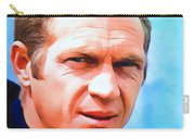 Steve Mcqueen, Portrait Carry-all Pouch