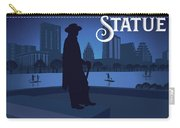 Stevie Ray Vaughan Memorial Statue  Carry-all Pouch