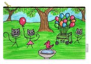Stick Cats #7 Carry-all Pouch