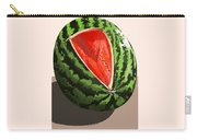 Still Life Watermelon 1 Carry-all Pouch