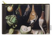 Still Life With Game Fowl Carry-all Pouch